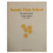 Suzuki Flute School Piano Part Volume 8 - Método para Flauta - 6923USA