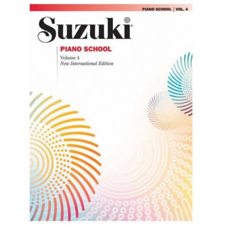 Suzuki Piano School Volume 4 - New International Edition - 0163SX