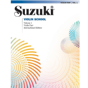 Suzuki Violin School Violin Part, Volume 1 International Edition - 0144S
