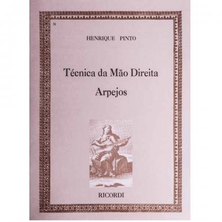 TÉCNICA DA MÃO DIREITA - ARPEJOS - Henrique Pinto - RB0600