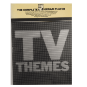 The complete Organ Player TV Themes ( Os temas completos da TV do jogador de órgão) AM83981