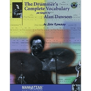 The Drummer's Complete Vocabulary as Taught by Alan Dawson by John Ramsay ( Com CD ) 0123B