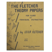 The Fletcher Theory Papers for Class or Individual Instruction by Leila Fletcher Book 1 - BM10017