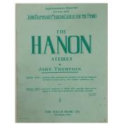 The Hanon Studies by John Thompson - 9345