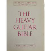 The Heavy Guitar Bible: A Rock Guitar Instruction Manual - Richard Daniels 02509105