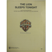 The Lion Sleeps Tonight - Lyrics and Revised Music by George David Weiss - VS6210