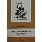 TREINAMENTO ELEMENTAR PARA MÚSICOS - Paul Hindemith - RB0078