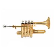 Trompete Piccolo em Sib/Lá, Ascent ASPT600 Laqueado
