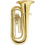Tuba Sinfônica 3 Pistos Bb Conductor M2107A Laqueada