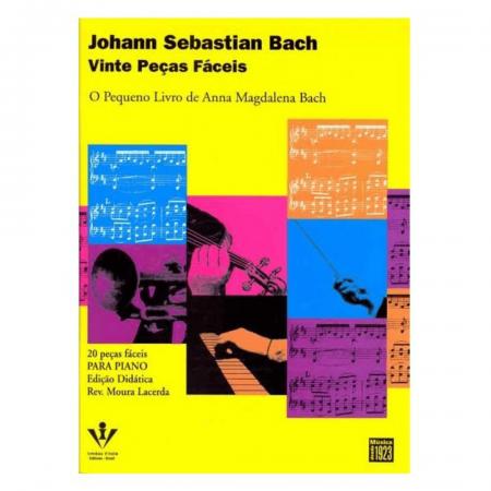 Vinte Peças Fáceis - O Pequeno Livro De Anna Magdalena Bach - Johann Sebastian Bach Piano 236M