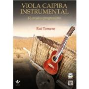 Viola Caipira Instrumental 42 Estudos Progressivos - Rui Torneze - 411M