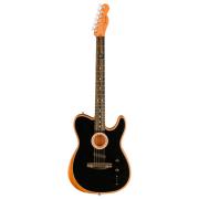 Violão Fender Acoustasonic Telecaster Com Bag 097-2013-206 - Black