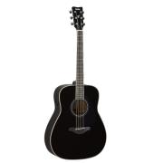 Violão TransAcoustic Elétrico Aço Yamaha FG-TA BL - Black