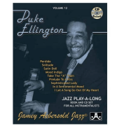 Volume 12 Duke Ellington - Jamey Aebersold Jazz P/ tds instrumentistas/vocalistas V12DS