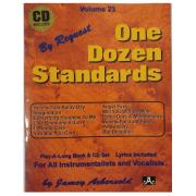 Volume 23 One Dozen Standards - Jamey Aebersold P/ tds instrumentistas/vocalistas C/CD V23DS