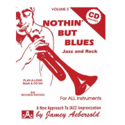 Volume 2 Nothin' But Blues: Jazz And Rock, Jamey Aebersold, Para todos os instrumentos V2DS