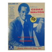 Volume 35 Cedar Walton, Nine Jazz Originals - Jamey Aebersold C/CD V35DS