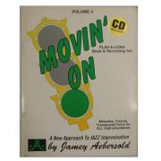 Volume 4 Movin' On - Jamey Aebersold Para todos instrumentistas C/CD - V4DS