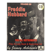 Volume 60 Freddie Hubbard - Jamey Aebersold Jazz, P/ todos os instrumentos C/CD V60DS