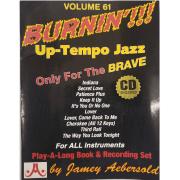 Volume 61 Burnin'!!! Up-Tempo Jazz Only For The Brave ( Com CD ) - 47151