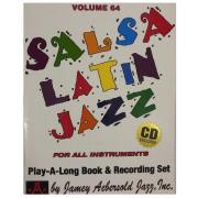 Volume 64 Salsa Latin Jazz - Jamey Aebersold - Para todos os instrumentos C/CD V64DS