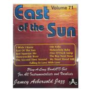 Volume 71 East of the Sun - Jamey Aebersold Jazz - P/ tds os instrumentistas/vocalistas C/CD - V71DS