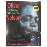 "Volume 73 ""Stolen Moments"" Oliver Nelson - Jamey Aebersold - P/ tds instrumentistas C/CD - V73DS"