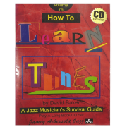 Volume 76 How To Learn Tunes - David Baker - Jamey Aebersold Jazz C/CD - V76DS
