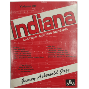 Volume 80 Indiana And Other American Standards - Jamey Aebersold, P/ tds instru./vocalistas V80DS