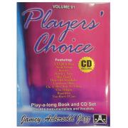 Volume 91 Players' Choice - Jamey Aebersold Jazz - P/ tds os instrumentistas/vocalistas C/CD - V91DS