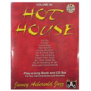 Volume 94 - Hot House - Jamey Aebersold Jazz , P/ tds os instrumentistas/vocalistas C/CD - V94DS