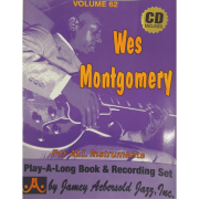 Wes Montgomery For All Instruments (Book & CD Set) Volume 62