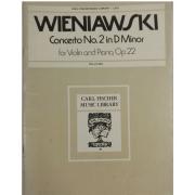 WIENIAWSKI Concerto No. 2 in D Minor para Violin and Piano, OP. 22 - L373