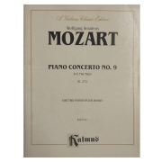 Wolfgang Amadeus Mozart Piano Concerto No. 9 In E-Flat Major ( K.271) for Two Pianos K03712
