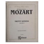 Wolfgang Amadeus Mozart Twenty Sonatas Volume II for Violin and Piano K 03736 - Kalmus