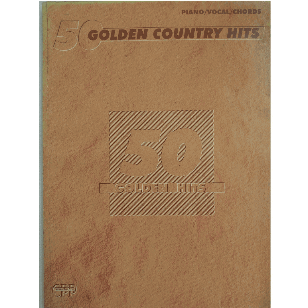 50 Golden Country Hits Piano, Vocal, Chords - Golden Hits F3332SMX