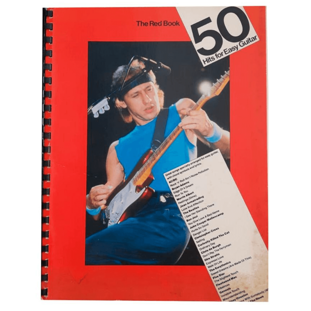 50 Hits for Easy Guitar (The Red book ) - 50 Hits para Guitarra Fácil (O livro vermelho) AM69774