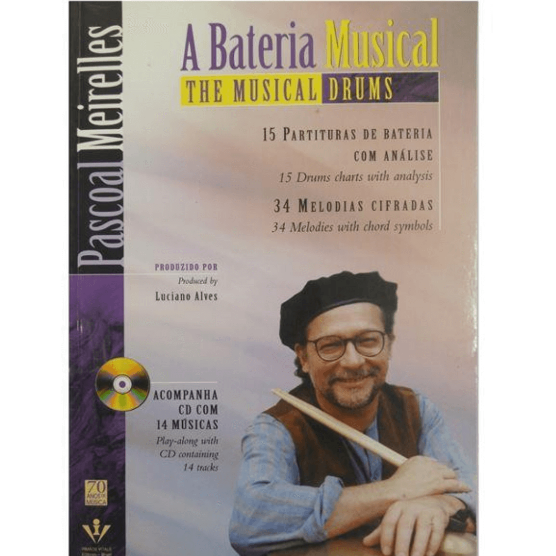 A Bateria Musical ( The Musical Drums ) - Pascoal Meirelles Acompanha Cd - 356m