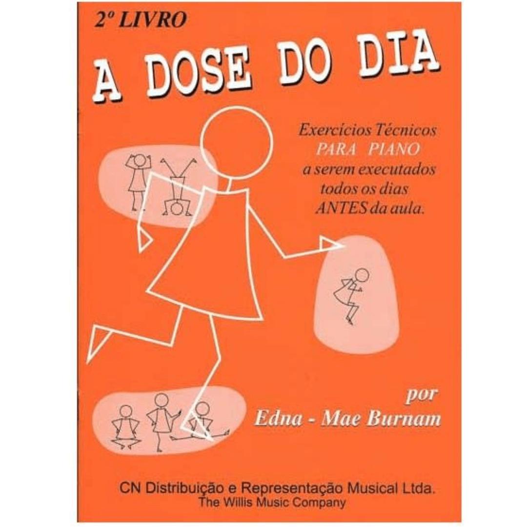 A DOSE DO DIA - 2º LIVRO - Edna Mae Burnam CN0004