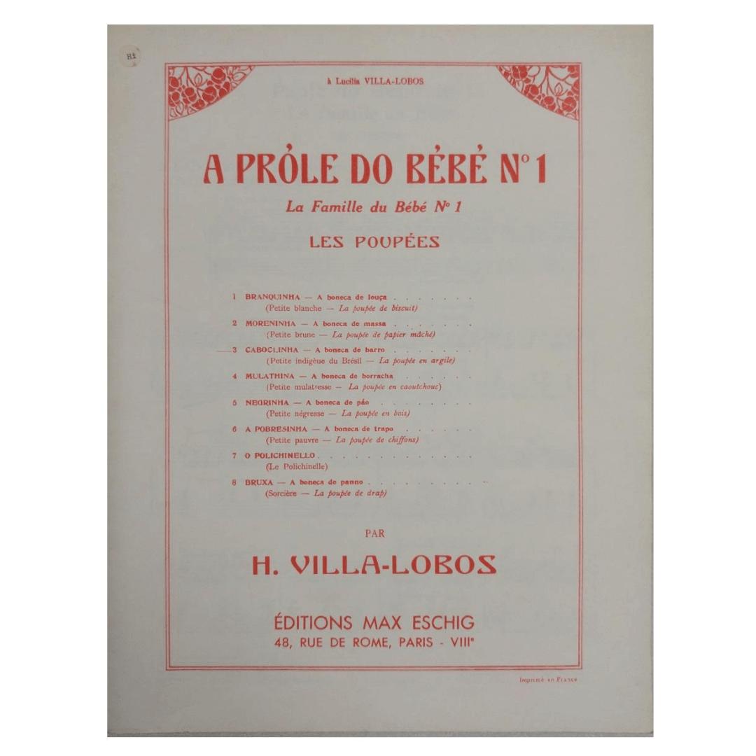 À Lucilia Villa - Lobos O Próle do Bébé n°1 Les Poupées