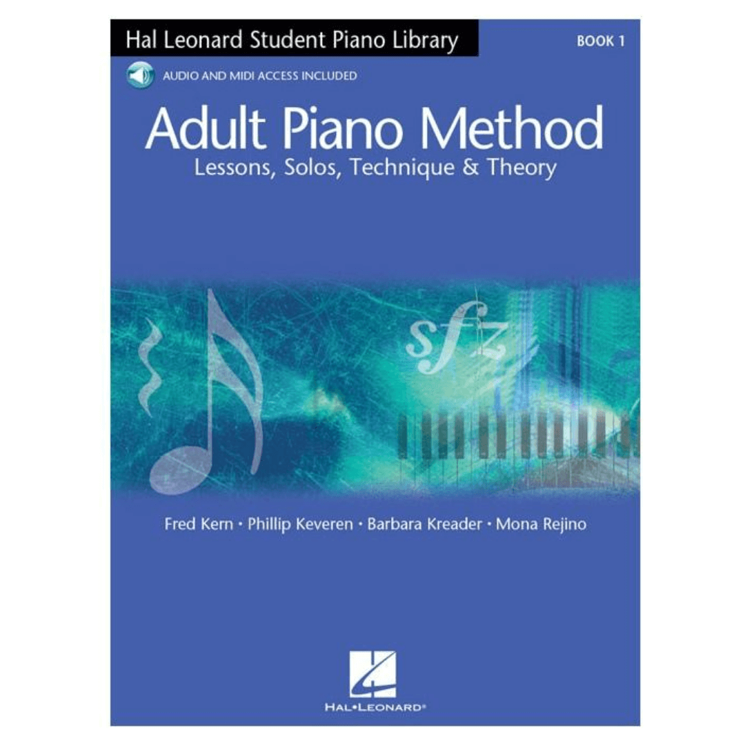 Adult Piano Method - Lessons, Solos, Technique & Theory Book 1 - HL00296441