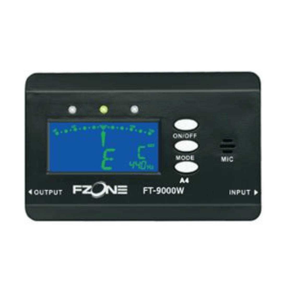 Afinador Cromático Fzone FT9000W