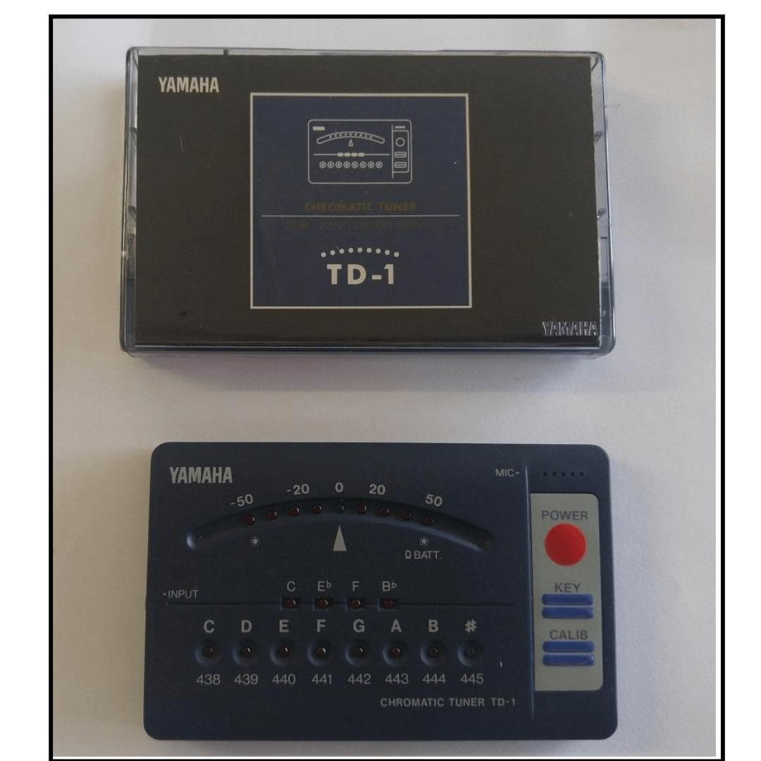 Afinador Eletrônico Yamaha TD1 Chromatic Tuner