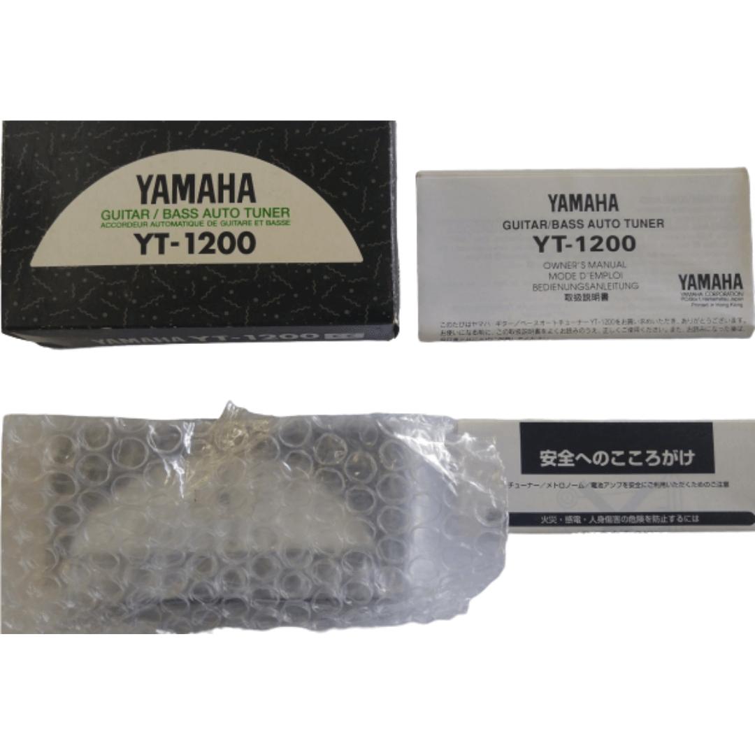 Afinador Yamaha Yt1200 Para Bass / Guitar