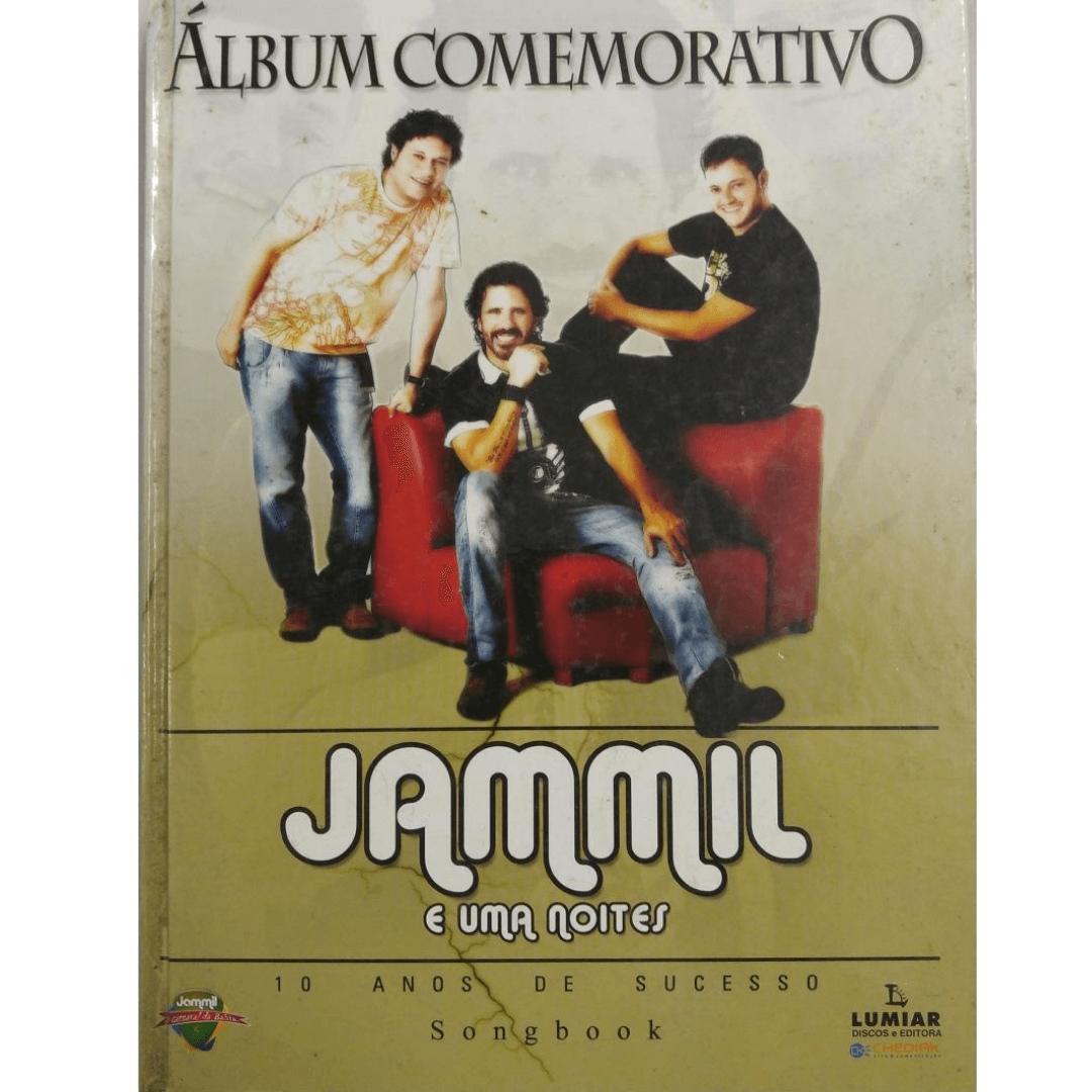 Álbum Comemorativo Jammil e uma noites 10 anos de sucesso Songbook