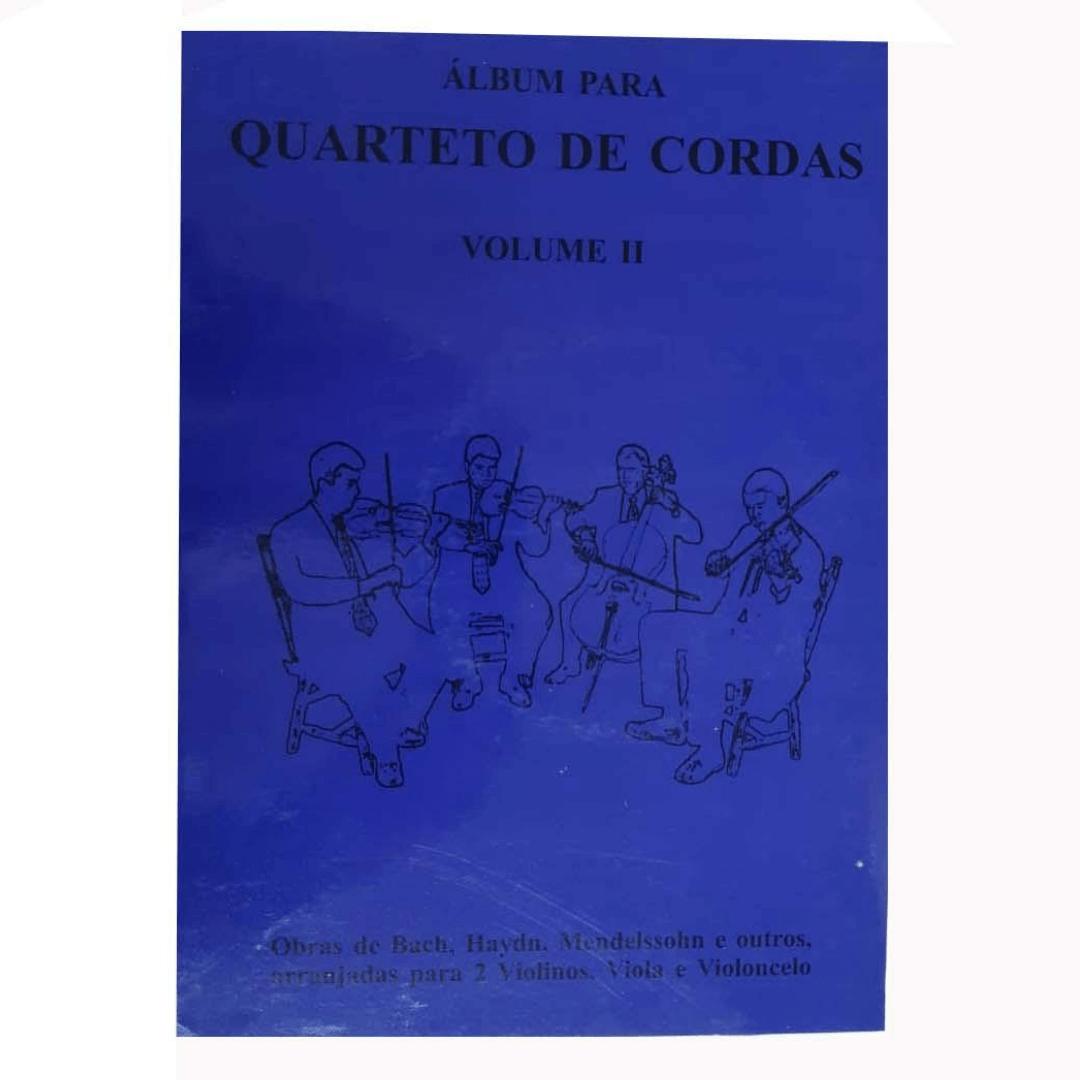 Álbum para Quarteto de Cordas Volume 2 - DVD Nelson M. Gama