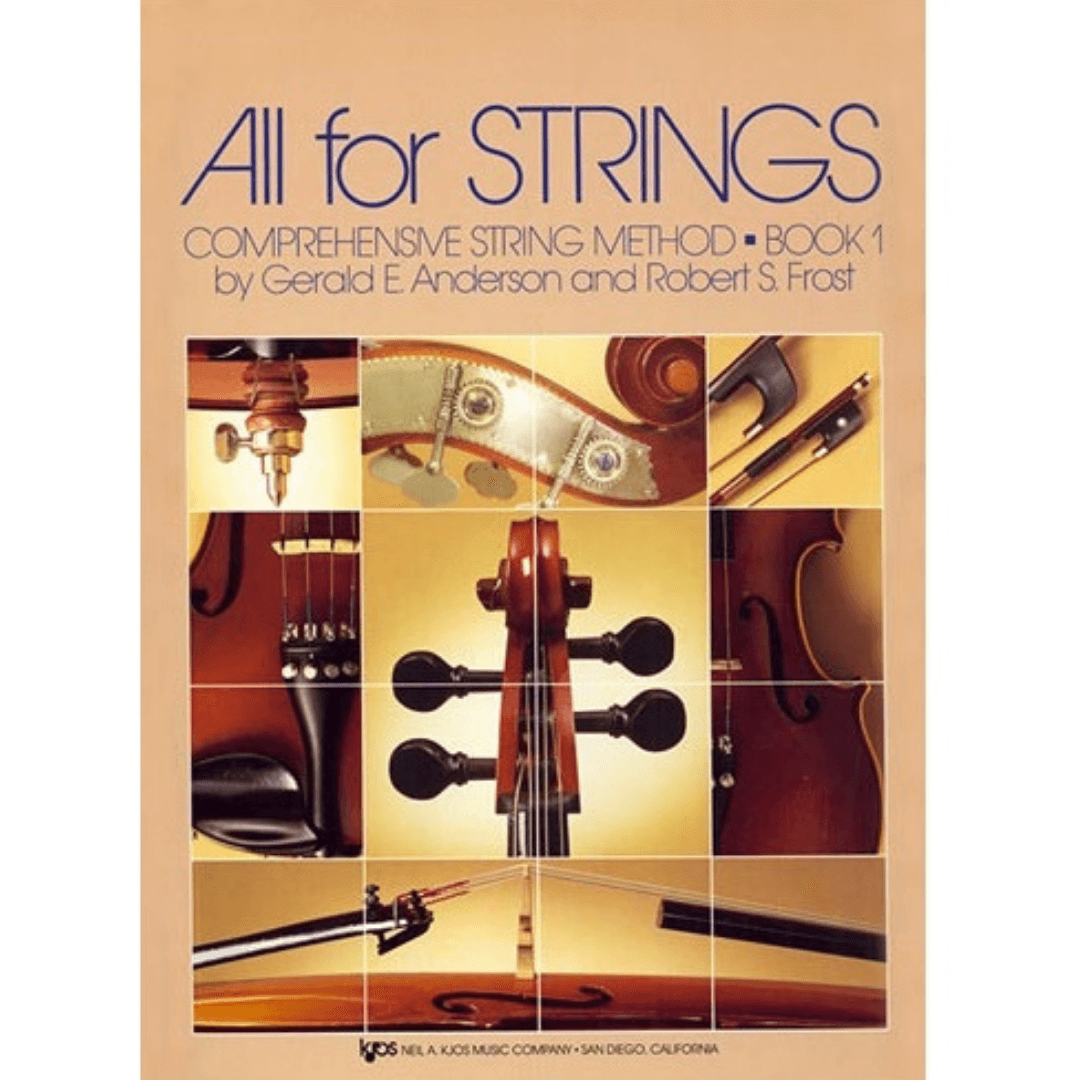 ALL FOR STRINGS BOOK 01 - Cello Comprehensive String Method - 78CO