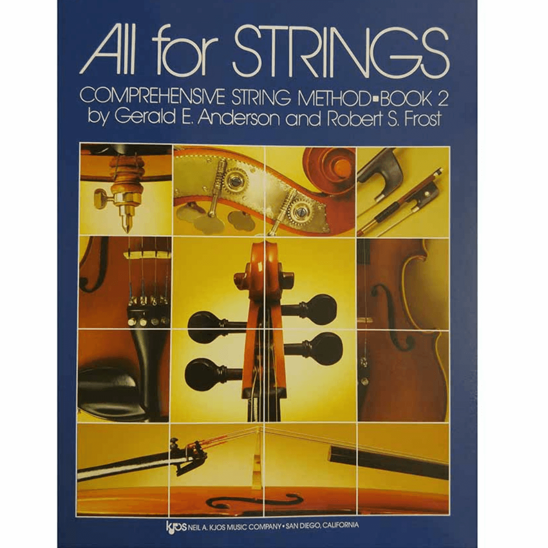 ALL FOR STRINGS BOOK 02 - Cello Comprehensive String Method - 79CO