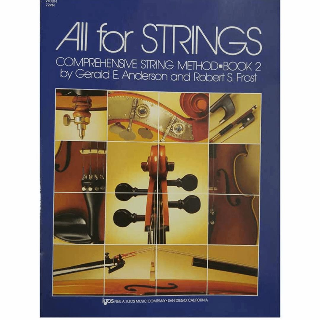 All for strings book 02 - violino comprehensive string method - 79VN