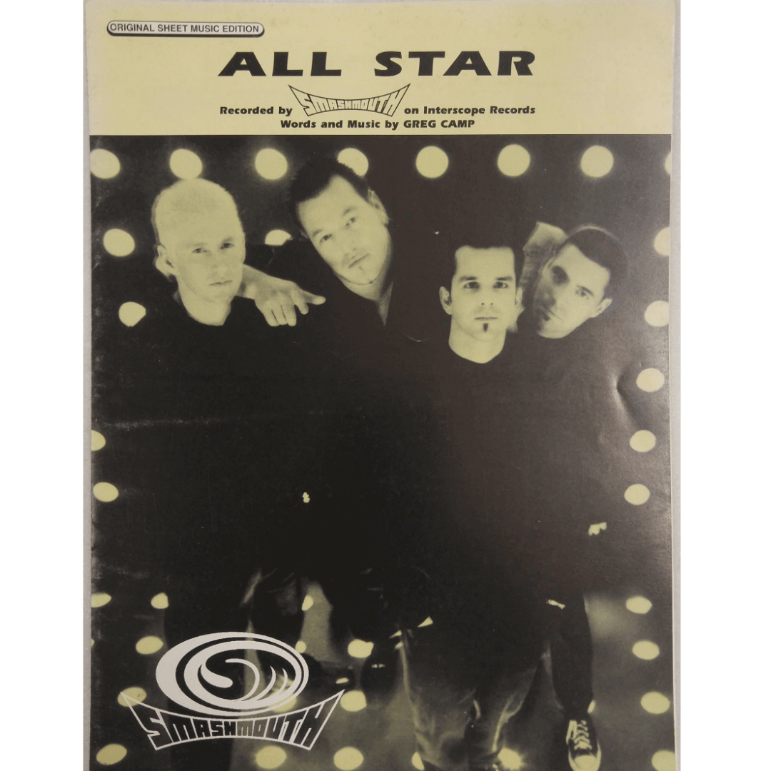 All Star Recorded by Smashmouth on Interscope Records Words and Music by Greg Camp PV9966